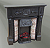 Dolls House Fireplaces Large Bedroom-Living rooms