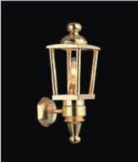 Brass carriage lamp LT 2022