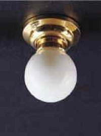 White globe ceiling lamp LT 4006