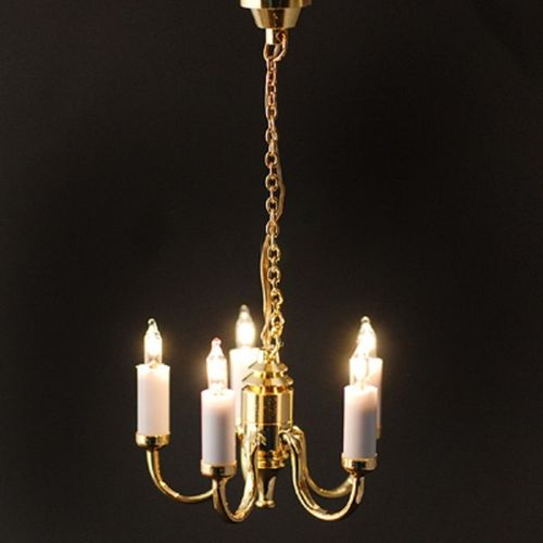 5 Arm Candle Chandelier LT 6026