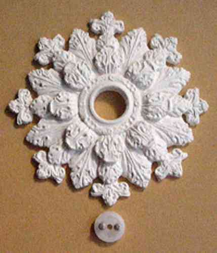 Georgian or Victorian ceiling rose CR18