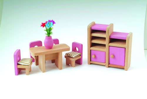 Dining room set pink DCF 007