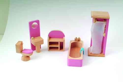 Bathroom set pink DCF 008