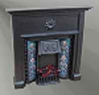 Dolls House Complete Fireplaces