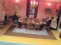 Dolls house dining rooms