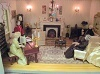 Dolls house living rooms