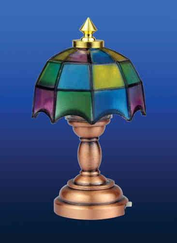 Tiffany Table Lamp (Battery included) DE 310