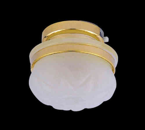 Frosted Ceiling Light (Battery included) DE 313