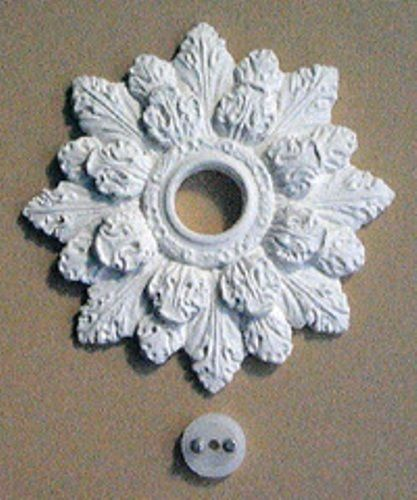 Georgian ceiling rose set CR19