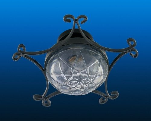 Ornate Iron Ceiling Lamp LT 4048