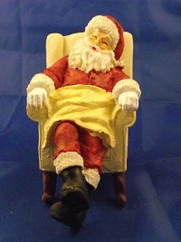 Sleeping Santa in chair 5764 E