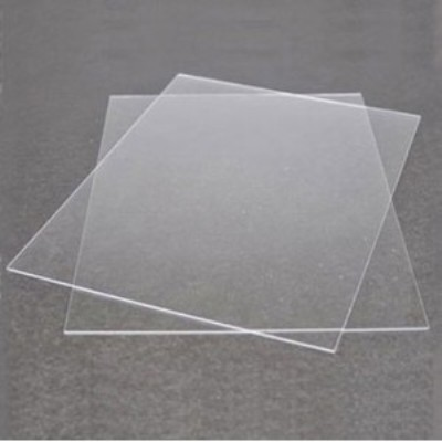 Clear Plastic for windows glazing A4 X 0.5mm x 2