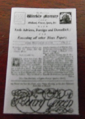 Bristol Weekley Mercury 1716