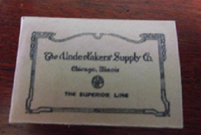 Undertakers Supply Catalogue 1901