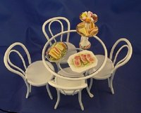 Dolls House Table Kitchen Dining roomTea rooms Cafe Table 1:12th