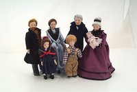 Dolls House Porcelain and Resin People