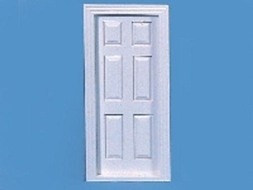 Internal Door, White. 6 Panel C54