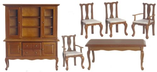 Bedroom walnut set 6 T 0120