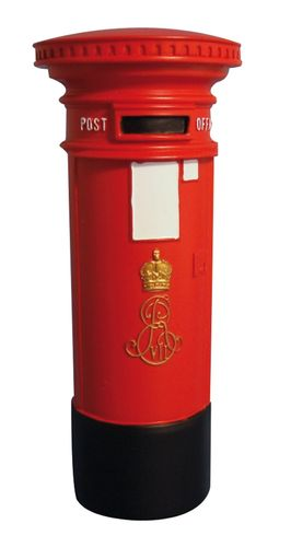 Post box Edwardian DF 637