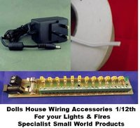 Brilliant Dolls House Wiring Accessories For 1 12Th Small World Products Wiring Digital Resources Cettecompassionincorg
