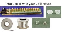 Dolls House items to wire Doll's House with Lights & Fires 1:12th & 1:24th